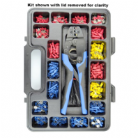 PROFESSIONAL Wiring terminal and crimp tool kit<br> ALT/CMXCK-33